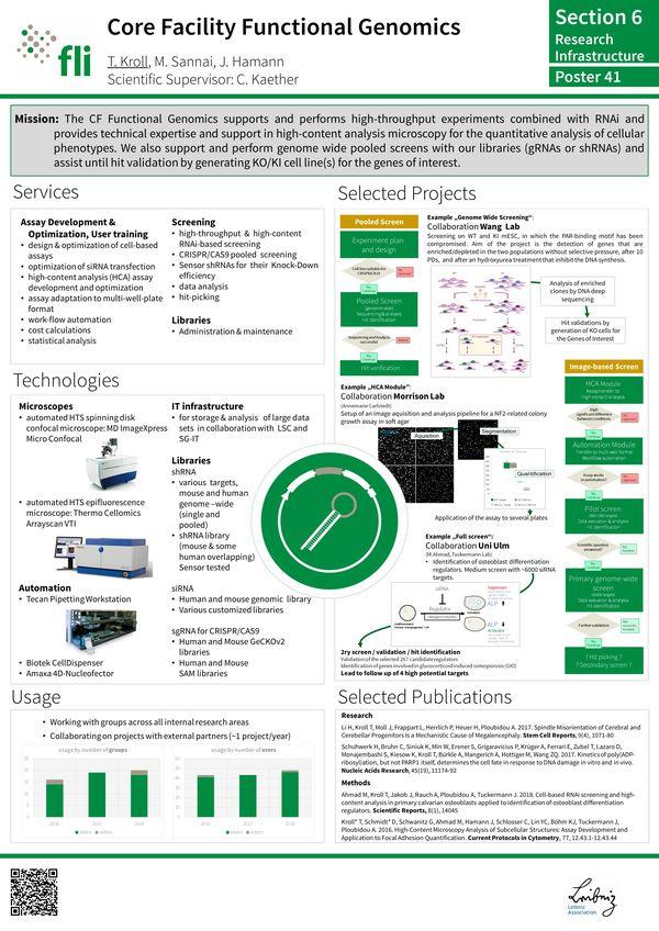 Overview CF Functional Genomics