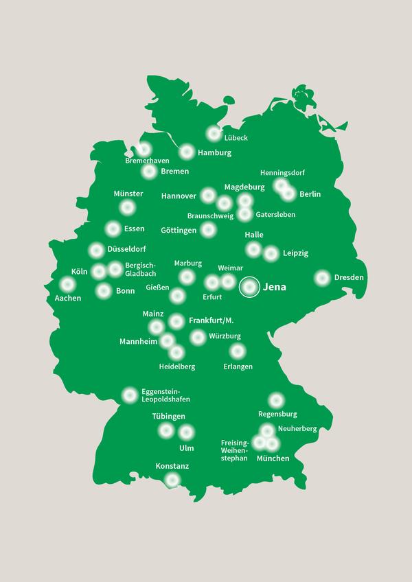 Das FLI ist regional und national intensiv vernetzt.