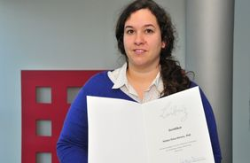 Dr. Hellen Ahrens was FLI's first Leibniz Mentee. (credit: FLI/Kerstin Wagner)
