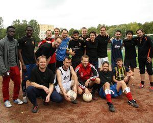 "FLI Soccer Team at ""Fußball macht Freunde"""