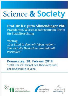 Poster Science & Society - Jutta Allmendinger
