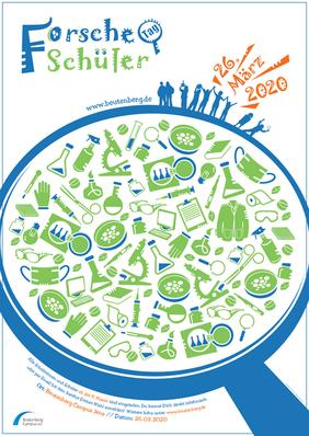 Poster Forsche Schüler Tag