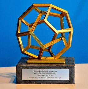 Thüringer Forschungspreis 2018 [Foto: FLI/Magdalena Voll]