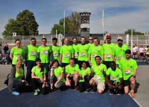 "FLI teams at the ""Jenaer Teamlauf"""